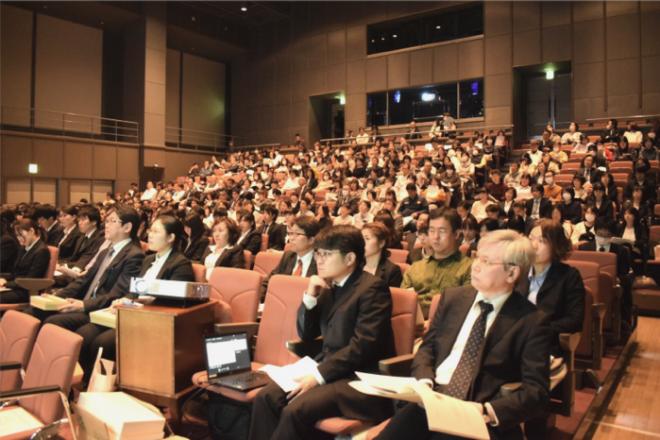 20190406在宅サービス研究発表会 客席の様子