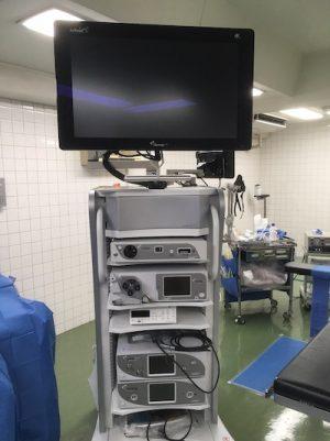 4Kカメラを搭載した最新の内視鏡による肩関節手術(足立東部病院)